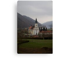 Small Town in Germany Canvas Print