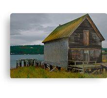 The Old Fish Hut Metal Print