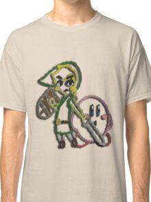 Link & Kirby's Epic Yarn Classic T-Shirt