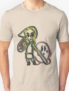 Link & Kirby's Epic Yarn Unisex T-Shirt