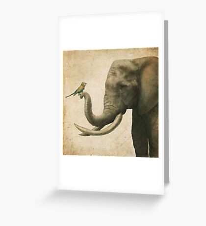 A New Friend (colour option) Greeting Card