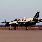 Evening King Air by mhnatiuk