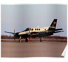 Evening King Air Poster
