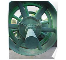 Green Wheel Poster