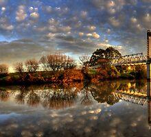 Hinton Bridge Panorama by PaulHollins
