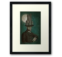 The Architect (colour) Framed Print