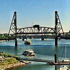 Hawthorne Bridge by Jennifer Hartnett-Henderson
