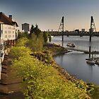 The Riverplace Esplanade by Jennifer Hartnett-Henderson