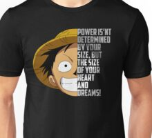 Luffy Quote Unisex T-Shirt