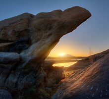 Sunset Pinch by Bob Larson