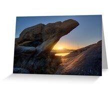 Sunset Pinch Greeting Card