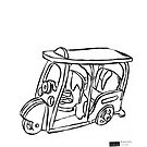 Thai Thai : Samlaw (Tuk-Tuk) From Bangkok by LINEart