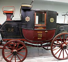 Royal Mail Coach 1820 by magiceye