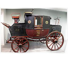 Royal Mail Coach 1820 Poster