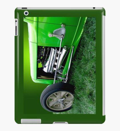 Green Rod 1 iPad Case/Skin