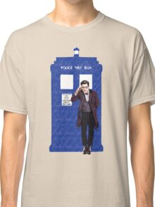The Doctor and TARDIS Classic T-Shirt