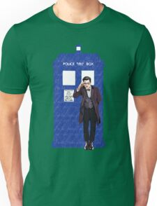 The Doctor and TARDIS Unisex T-Shirt