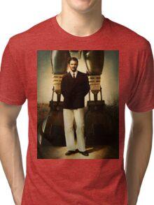 Portrait of Robert House Tri-blend T-Shirt