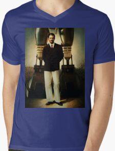 Portrait of Robert House Mens V-Neck T-Shirt
