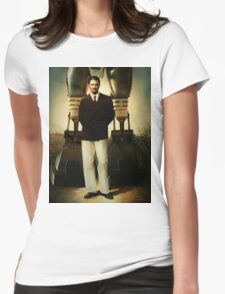 Portrait of Robert House Womens Fitted T-Shirt