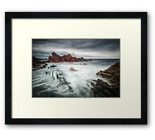 Rough And Ragged Framed Print