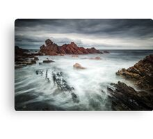 Rough And Ragged Canvas Print