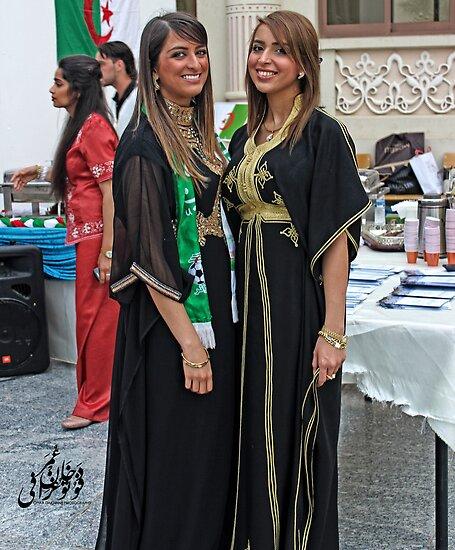 Algerian Traditional Fashion by Omar Dakhane