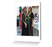 Algerian Traditional Fashion Greeting Card