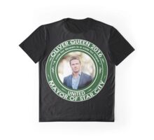 Oliver Queen for Mayor 10 Graphic T-Shirt
