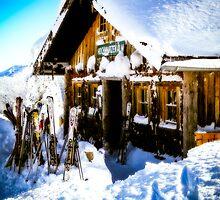 Ski Hutte by mlphoto