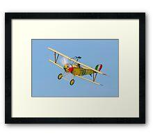 Nieuport 11 replica Framed Print