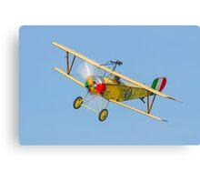 Nieuport 11 replica Canvas Print