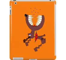 Angry DOG orange iPad Case/Skin
