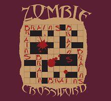 Zombie Crossword Puzzle Unisex T-Shirt