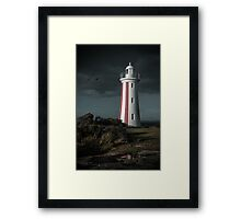 Where gloom gathers Framed Print