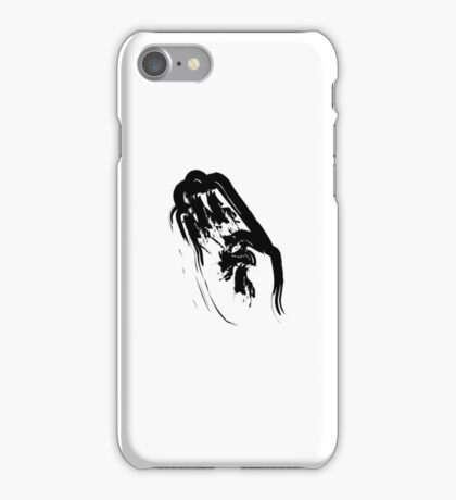 B // Black on White iPhone Case/Skin