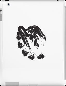 J // Black on White by schiggityschway