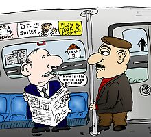 The Limo Train Cartoon by Binary-Options
