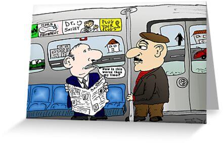 The Limo Train Cartoon by Binary-Options