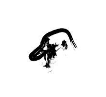 P // Black on White by schiggityschway