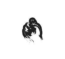 T // Black on White by schiggityschway