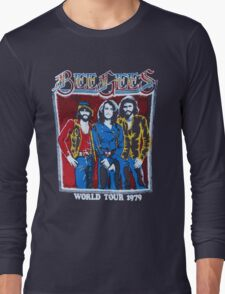 BEE GEES WORLD TOUR Long Sleeve T-Shirt