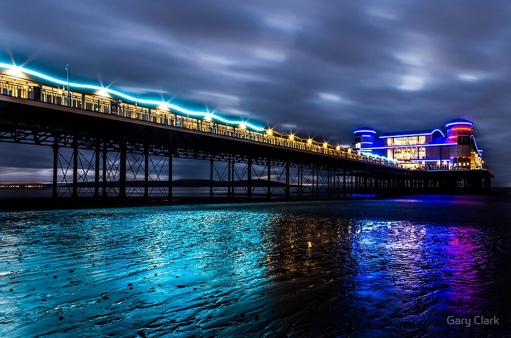Darkness @ the Pier by Gary Clark