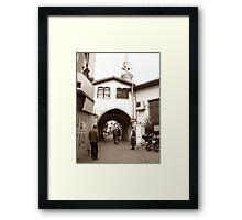 Sepia  Framed Print