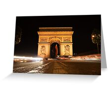Paris 8661 Greeting Card