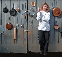Hanging Chef by Leanne Christmas