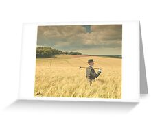 Out of bounds Greeting Card