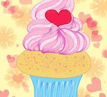 Love Cupcake by musicgeekstress