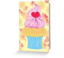 Love Cupcake Greeting Card