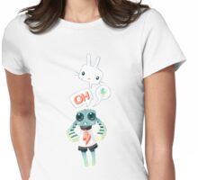 Bunny Doll Womens Fitted T-Shirt